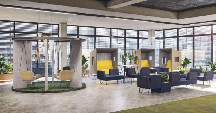 De beste designtipsene for et vellykket kontorfelleskap.