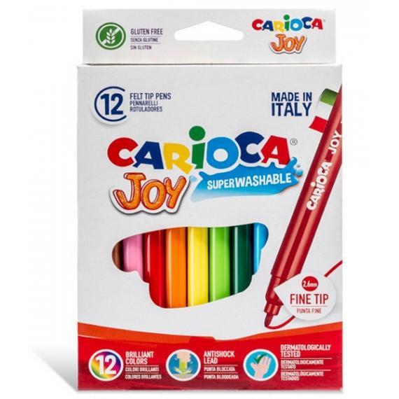 Carioca Joy 12 Μαρκαδόροι Λεπτοί 2