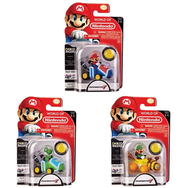 Αυτοκίνητο Coin Racers Super Mario  Wave 1 Jakks Pacific (69278)