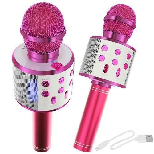 Μικρόφωνο Karaoke Bluetooth Φούξια Iso Trade (00009003)