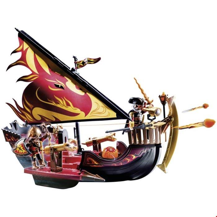 Πλοίο της φωτιάς του Burnham PLAYMOBIL (70641)