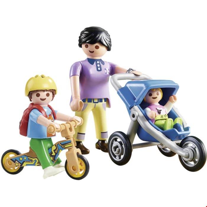 Μαμά και παιδάκια PLAYMOBIL (70284)