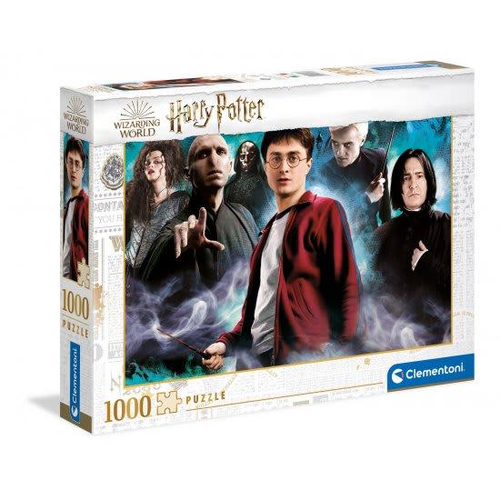 Παζλ 1000 τεμ. Harry vs. the DarkArts CLEMENTONI (39586)
