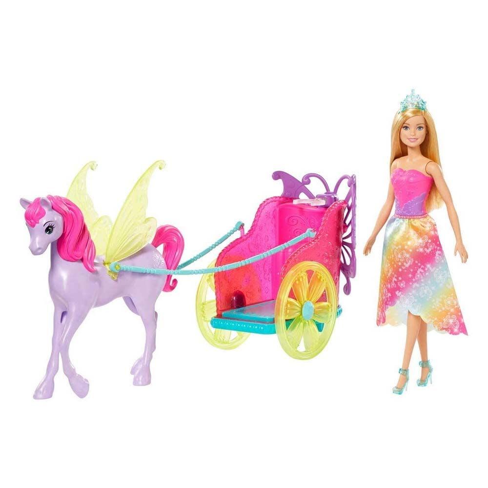 Barbie Dreamtopia Άμαξα και Πήγασος MATTEL (GJK53)