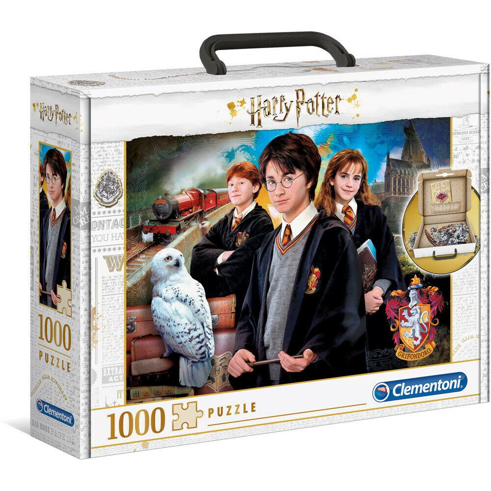 Παζλ 1000 τεμ. Harry Potter Βαλιτσάκι CLEMENTONI (61882)