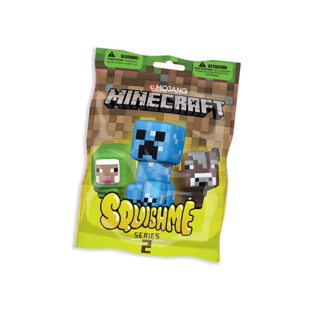 Minecraft Squishme Anti-Stress Figures 6 cm Series 2 Just Toys (3357)