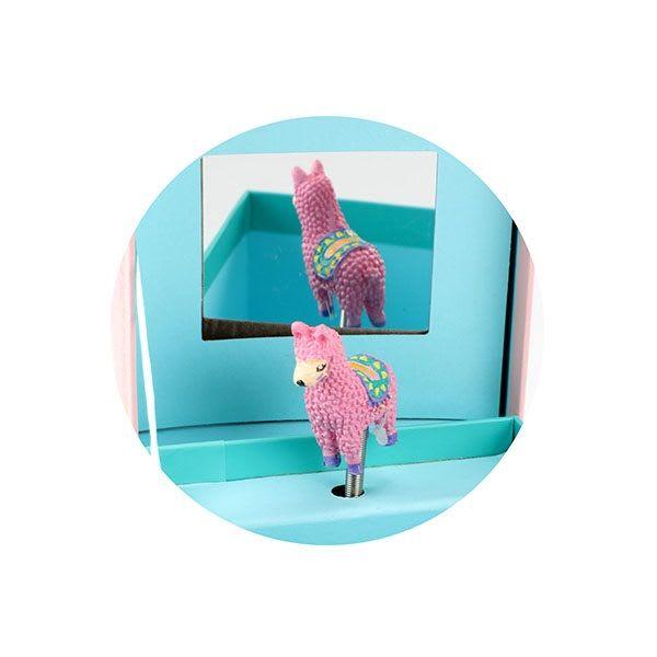 Μουσικό Kουτί No Drama LLAMA τετράγωνο Toi-Toys (35592B)