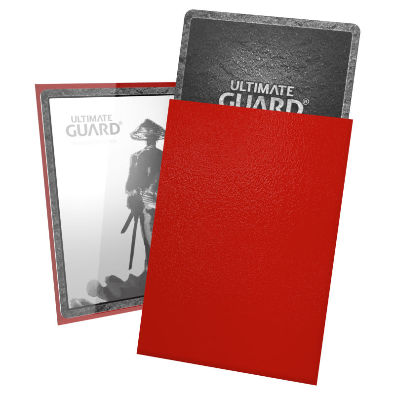 Ultimate Guard Katana Sleeves Japanese Size κόκκινες (60) (UGD011051)