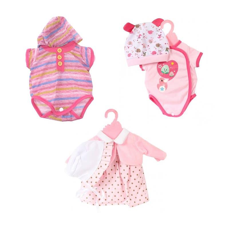Baby Rose Ρούχα Κούκλας σε Κρεμάστρα 40 - 45 εκ. JOHNTOY (JH27632)