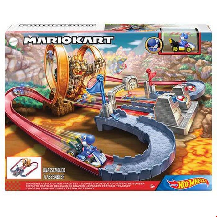 Hot Wheels Mario Kart Το Κάστρο Του Μπάουζερ Πίστα MATTEL (GNM22)