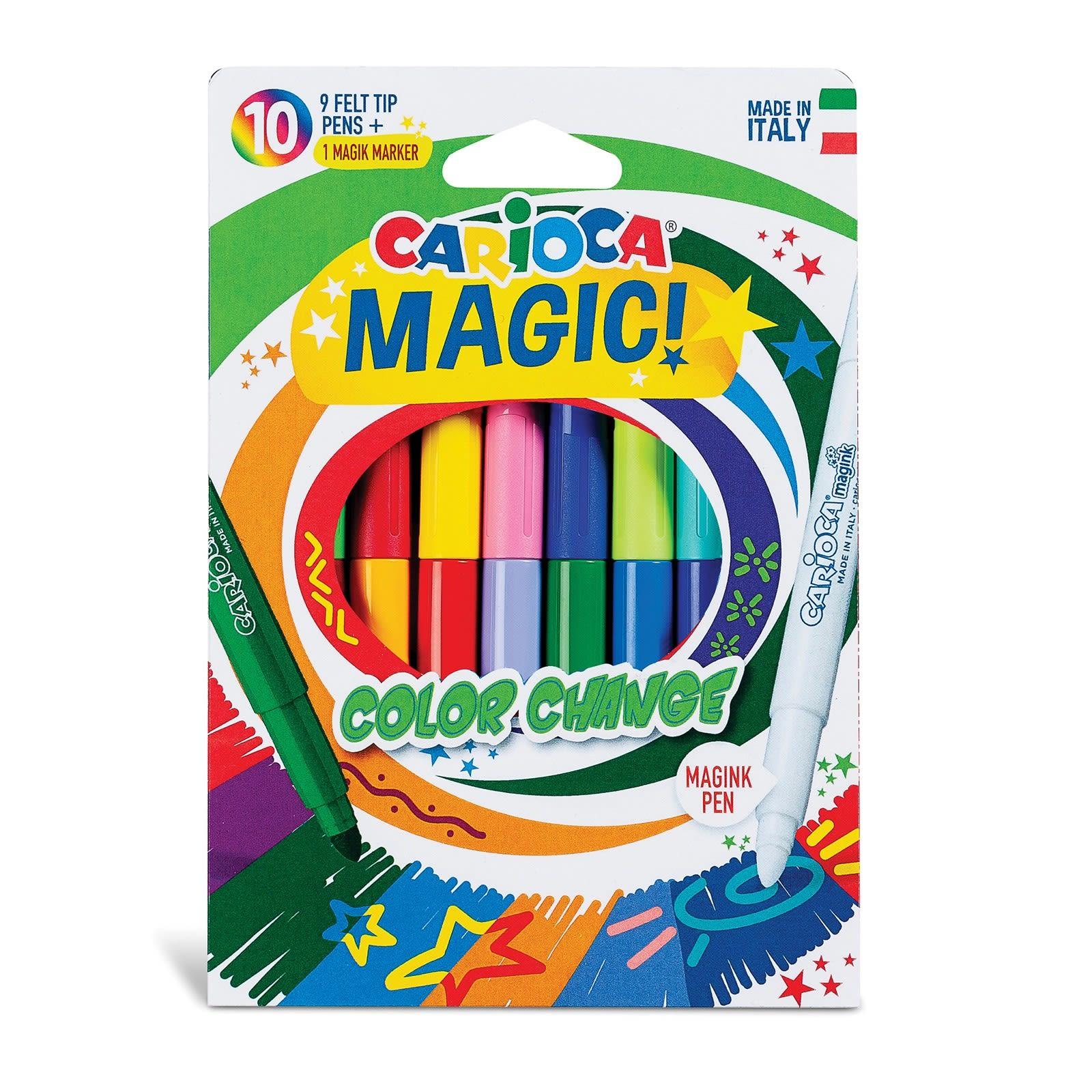 Carioca Magic Color Change (9+1 Magic Pen) 6mm (42737)