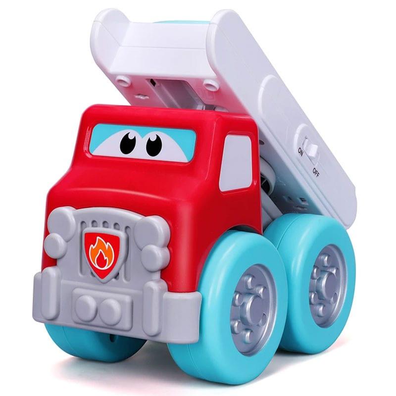Πυροσβεστική DRIVE 'N ROCK με πιανάκι ματαρίας bb JUNIOR (16/89033)