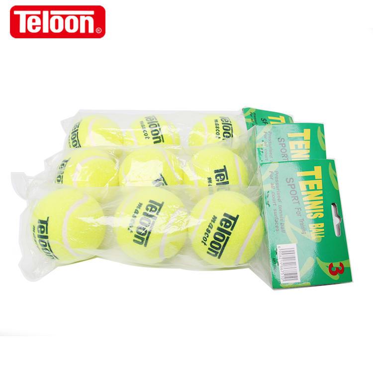 Μπαλάκια ξυλορακέτας και τένις Teloon mascot 3 τεμ.