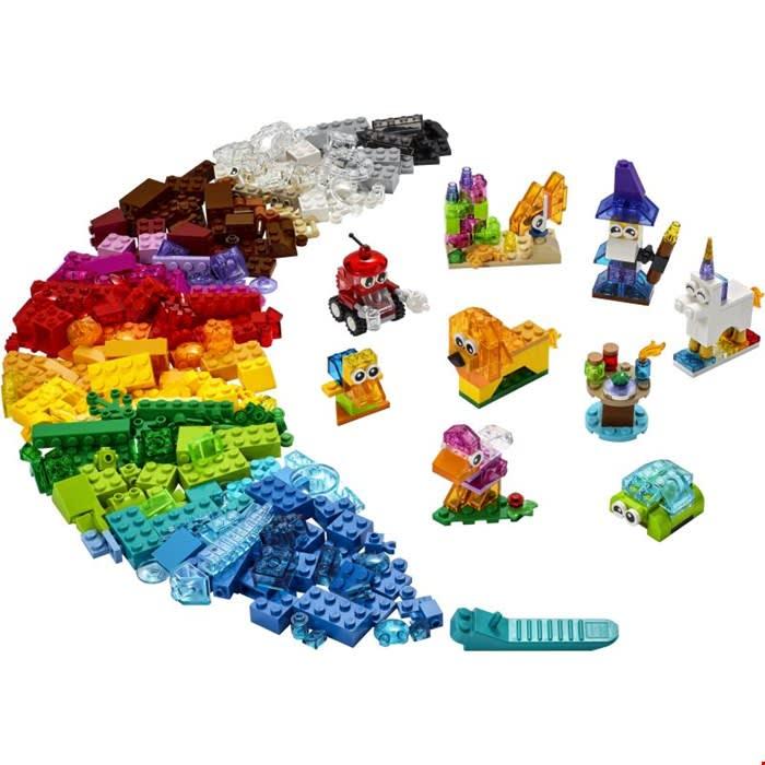 11013 Creative Transparent Bricks LEGO