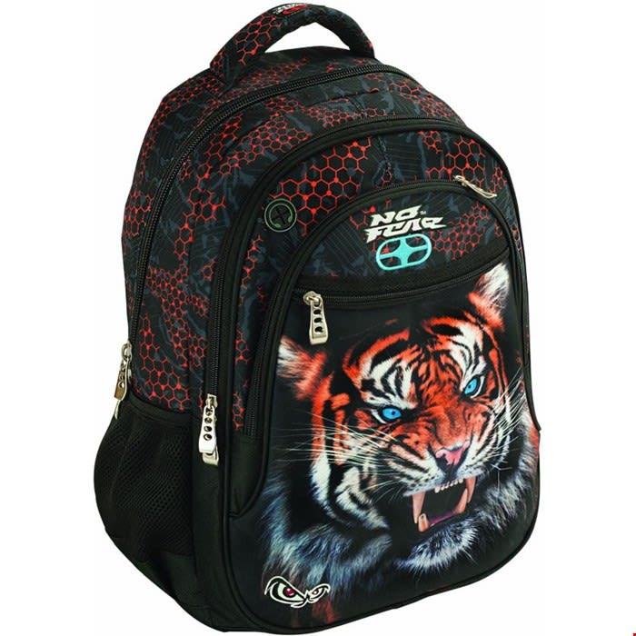 BMU Tiger Σακίδιο Οβάλ No Fear BACK ME up (347-88031)