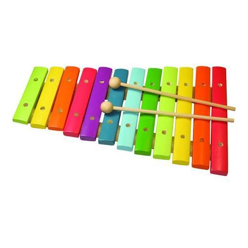 Για μικρούς ανερχόμενους μουσικούς ξύλινο χρωματιστό ξυλόφωνο 1