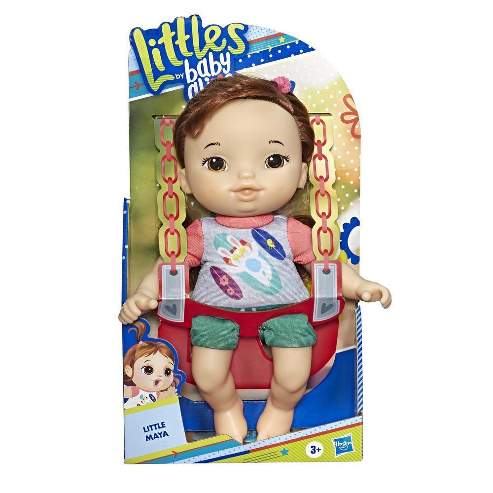 Hasbro Littles Baby Alive Κούκλα με Αξεσουάρ 25cm (E8407)