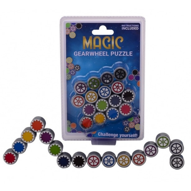 Magic GearWheel Puzzle Γρανάζια Σπαζοκεφαλιά JOHNTOY (JH25043)