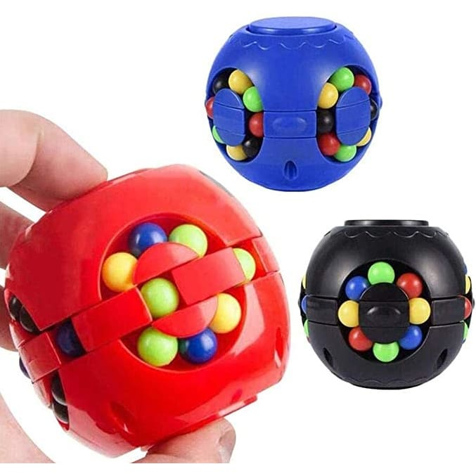 Magic Fidget IQ Αντιστρές Puzzle Ball σε 3 χρώματα (No.633-117K)