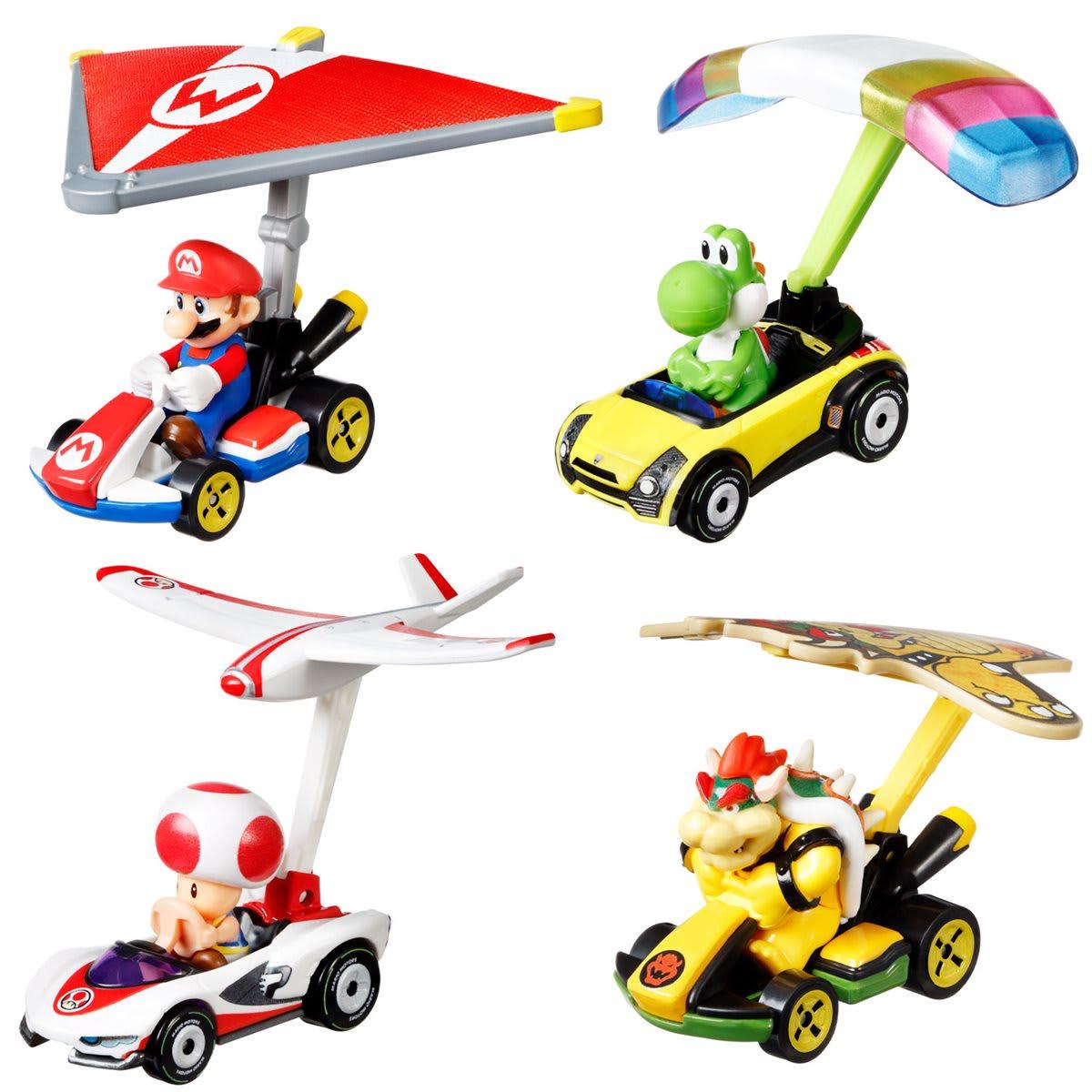 Hot Wheels Mario Kart με Ανεμόπτερο MATTEL (GVD30)