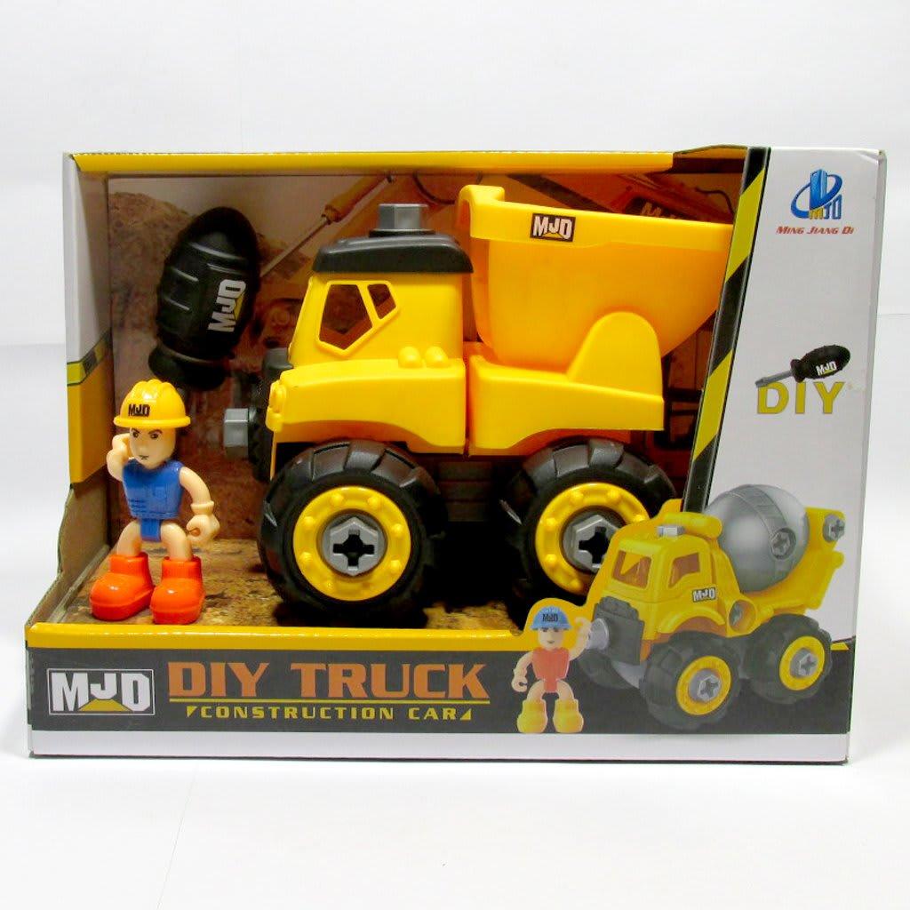 Φορτηγό DIY με κατσαβίδι MJD (122-1A)