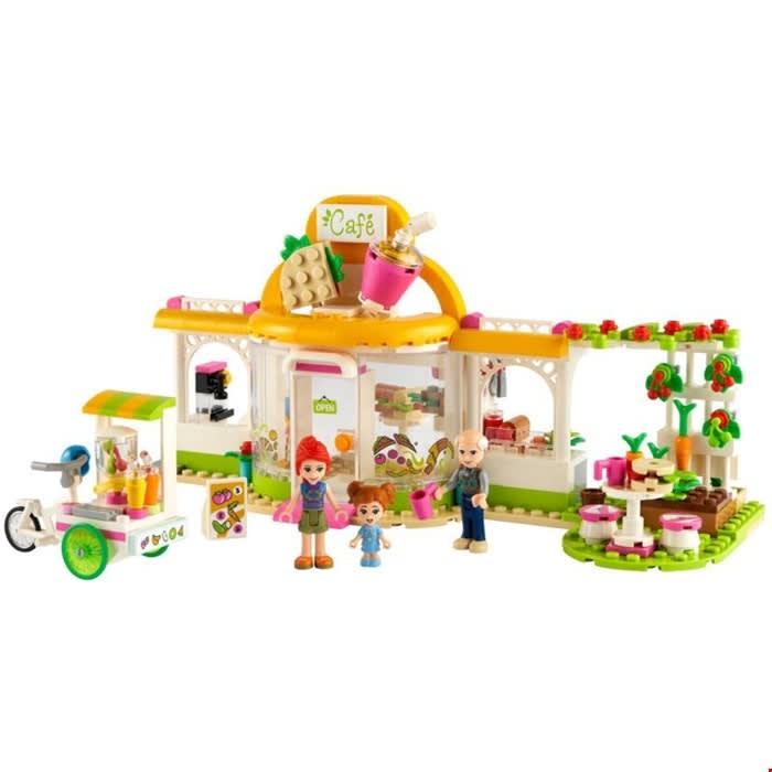 41444 Heartlake City Organic Cafe με Δώρο Λαμπάδα LEGO