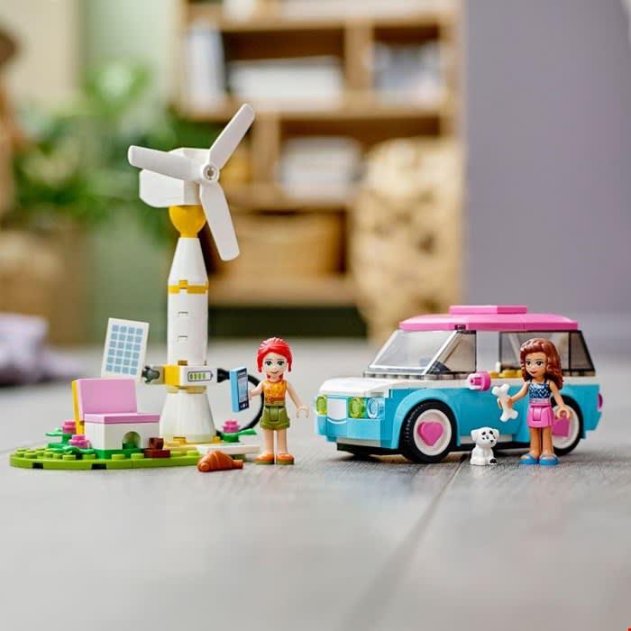 41443 Olivia's Electric Car με Δώρο Λαμπάδα LEGO