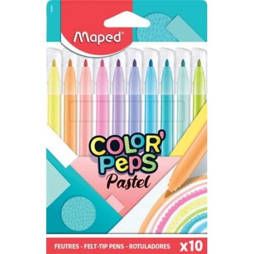 Μαρκαδόροι Pastel Color Peps 2