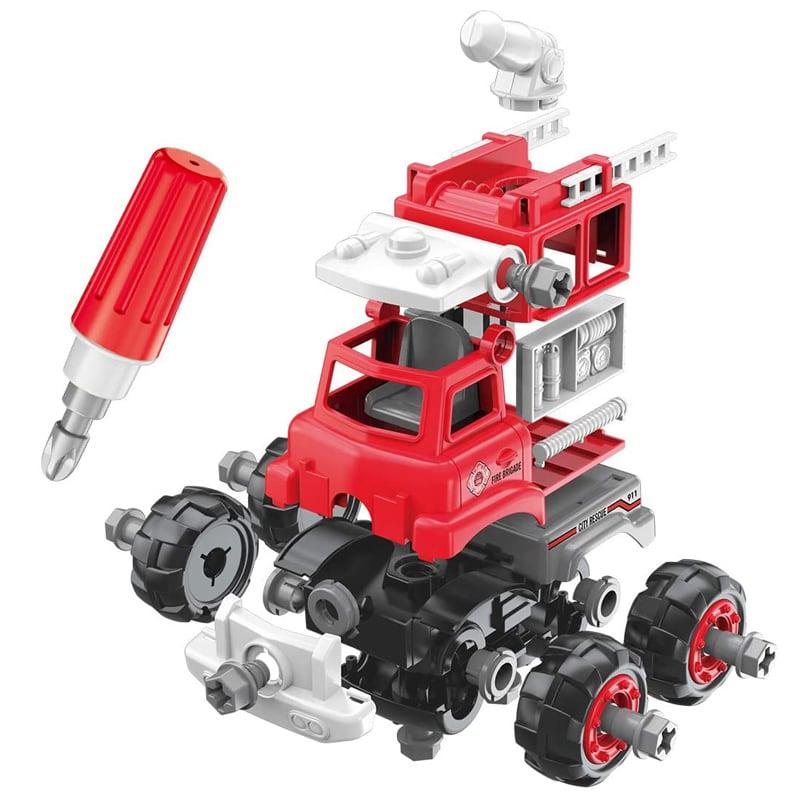 Πυροσβεστικό όχημα DIY με κατσαβίδι MJD (125-1A)
