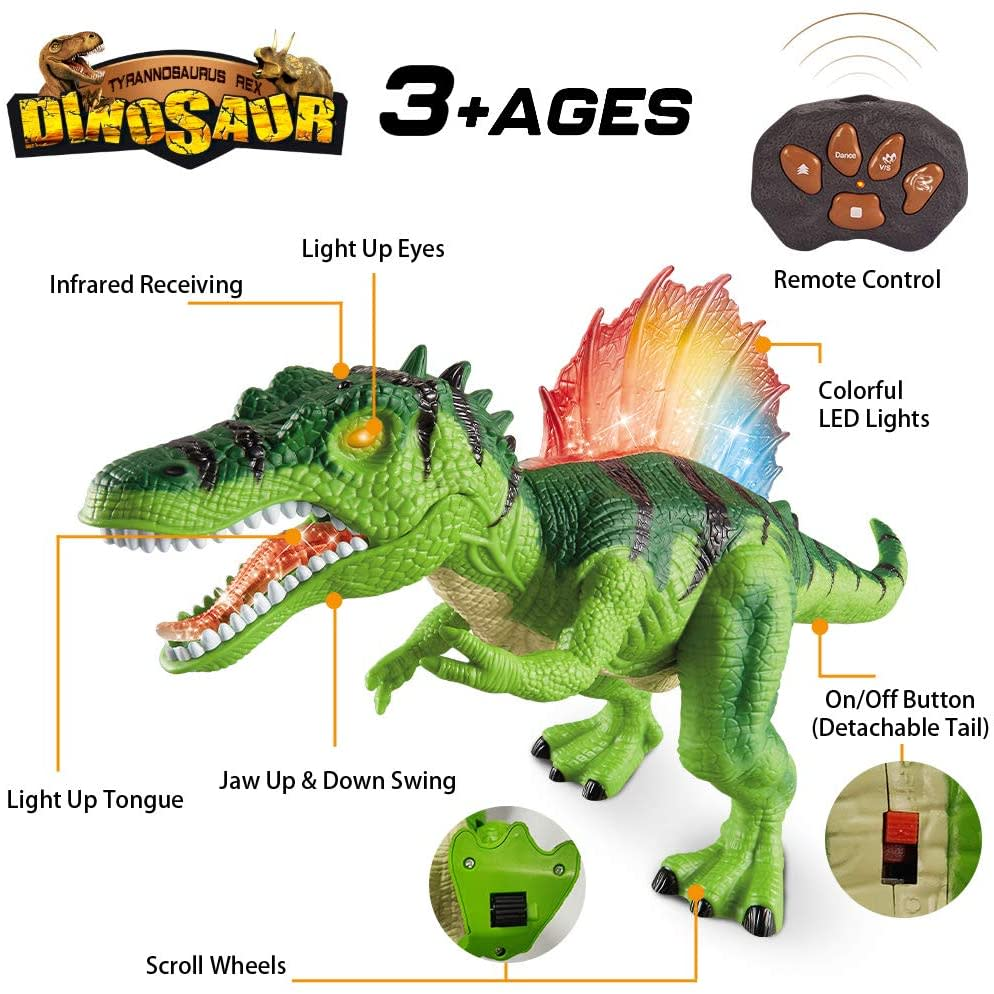 Dinosaur Τηλεκατευθυνόμενος Σπινόσαυρος (F162)