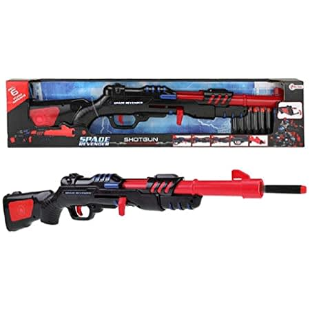 Shotgun καραμπίνα 58 εκ. με 6 αφρώδη βελάκια Toi-Toys (32587A)