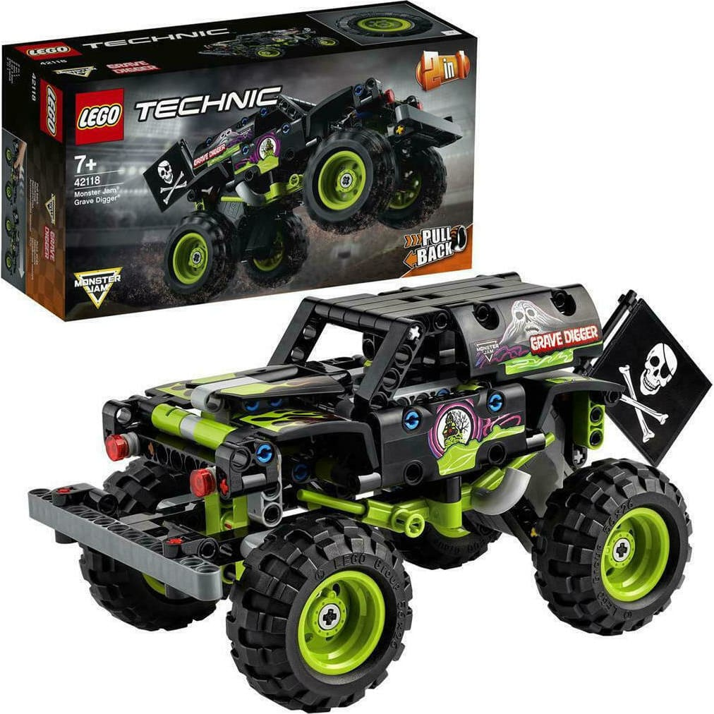 42118 Monster Jam® Grave Digger® V29 LEGO