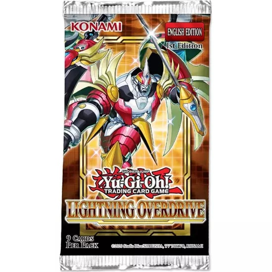 Yu-Gi-Oh! Lightning Overdrive Booster (9Cards) KONAMI (KON848289)