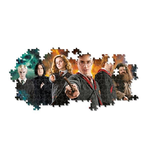Παζλ 1000 τεμ. Χαρακτήρες Harry Potter Panorama CLEMENTONI (61883)