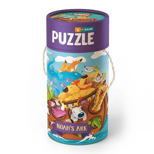 """Παζλ 40 τεμ. και Παιχνίδι """"Η Κιβωτός του Νώε"""" Dodo Puzzle (200114)"""