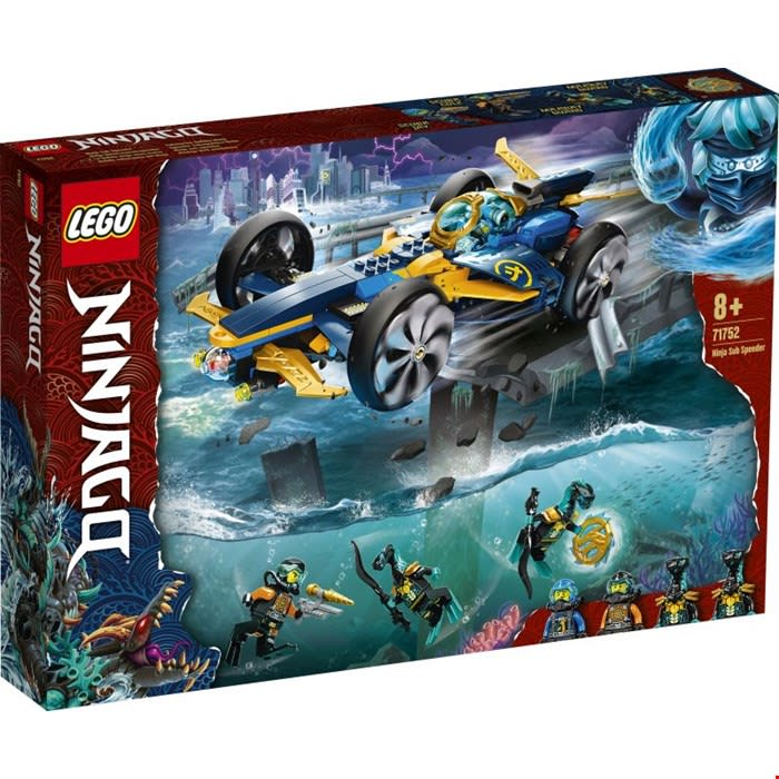 71752 Ninja Sub Speeder LEGO