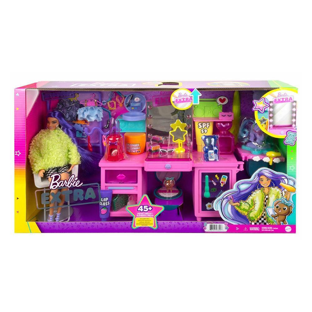 Barbie Extra - Στούντιο Ομορφιάς Σετ με Κούκλα MATTEL (GYJ70)
