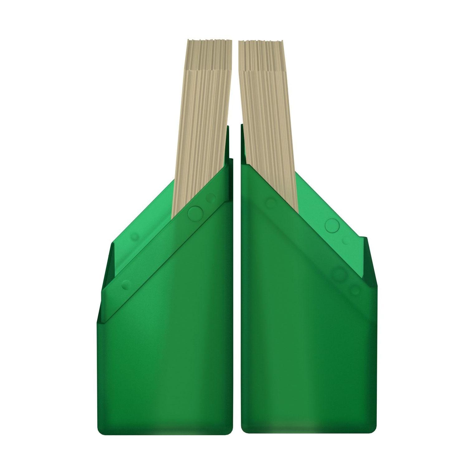 Ultimate Guard Boulder Deck Case 40+Standard Size Πράσινο Emerald (UGD011136)