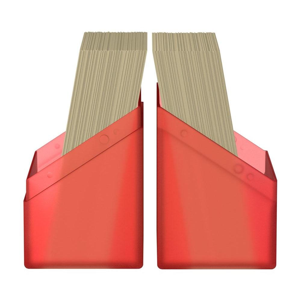 Ultimate Guard Boulder Deck Case 60+Standard Size Κόκκινο Ruby (UGD010891)