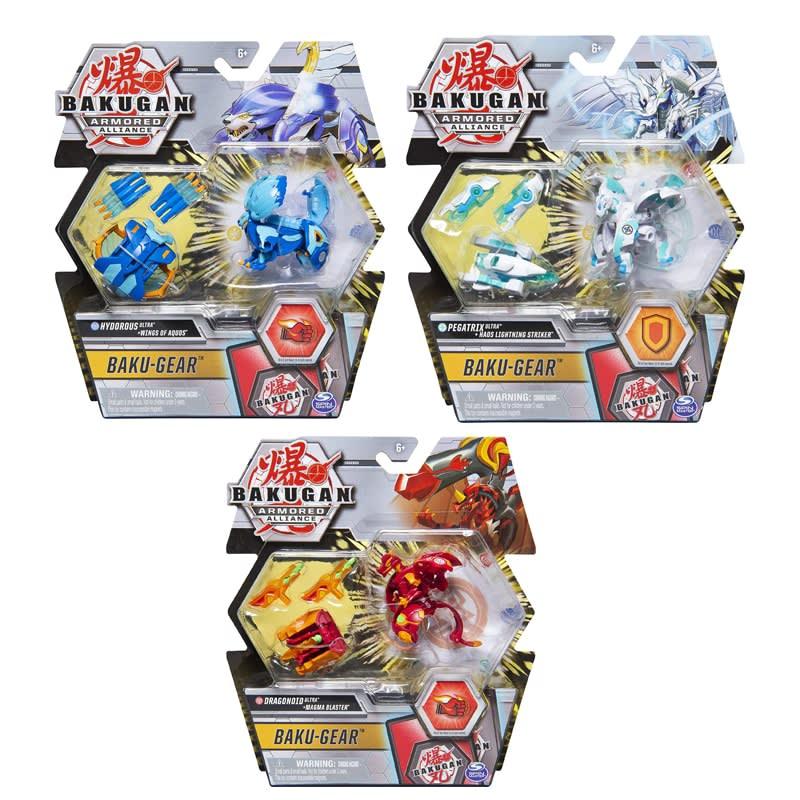 Baku-Gear + Bakugan Ultra Armored Alliance SPIN MASTER (6055887)