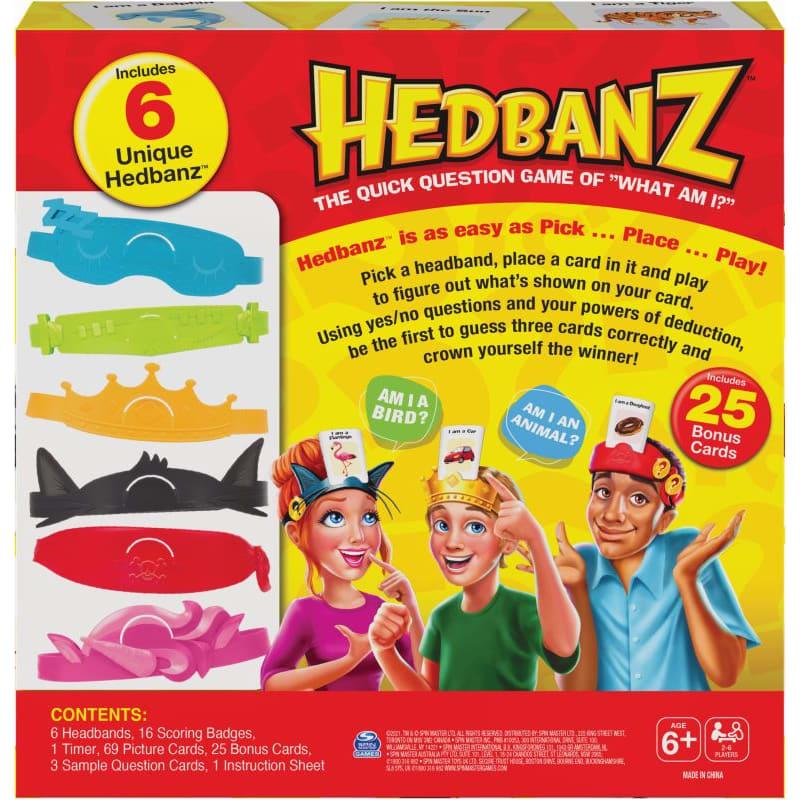 Hedbanz Family Στο Κεφάλι Το 'Χω SPIN MASTER (6059681)