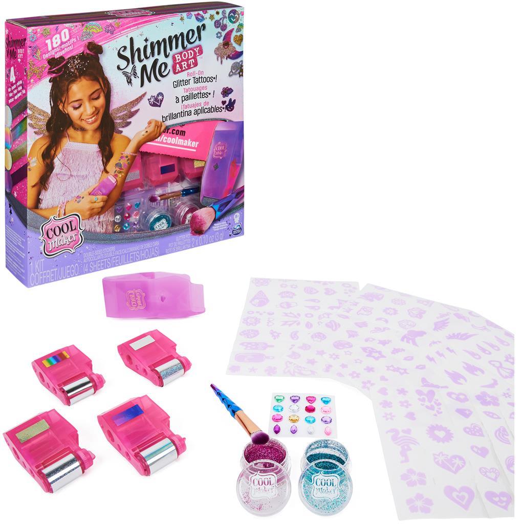 Shimmer Me Σούπερ Τατού Cool Maker SPIN MASTER (6061176)