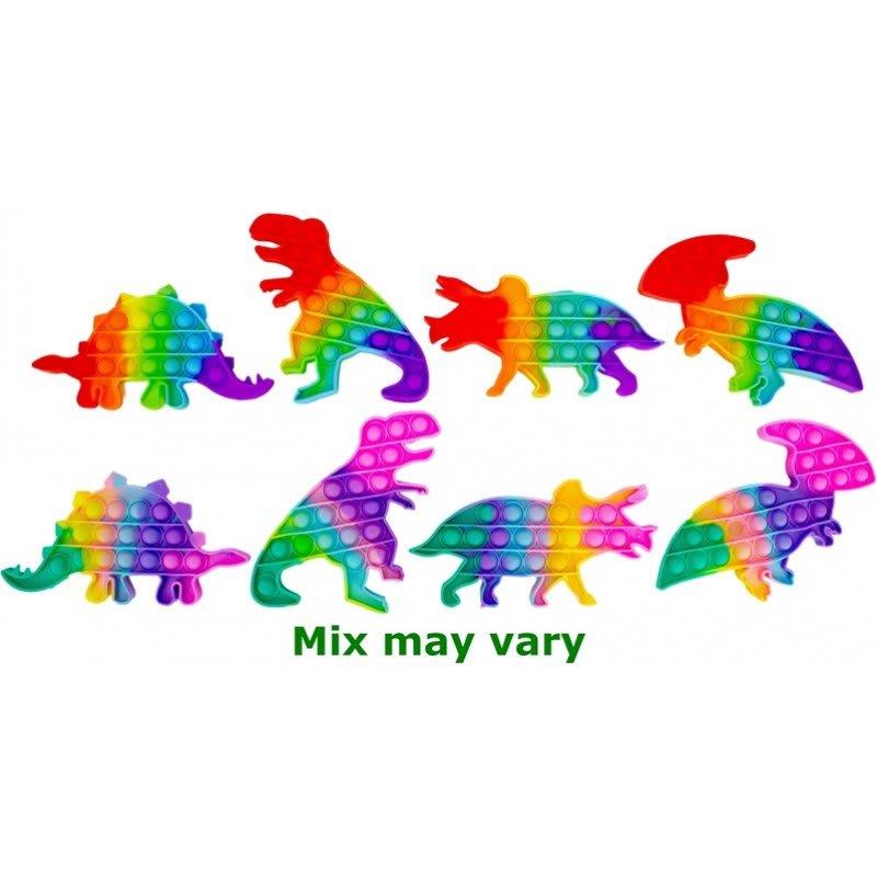 Magic Pop Game Rainbow Dino 20 εκ. Jono Toys (JT9317)