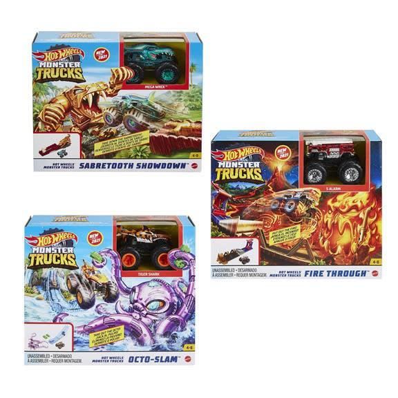 Monster Trucks Σετ Παιχνιδιού Hero Play MATTEL (GYL09)