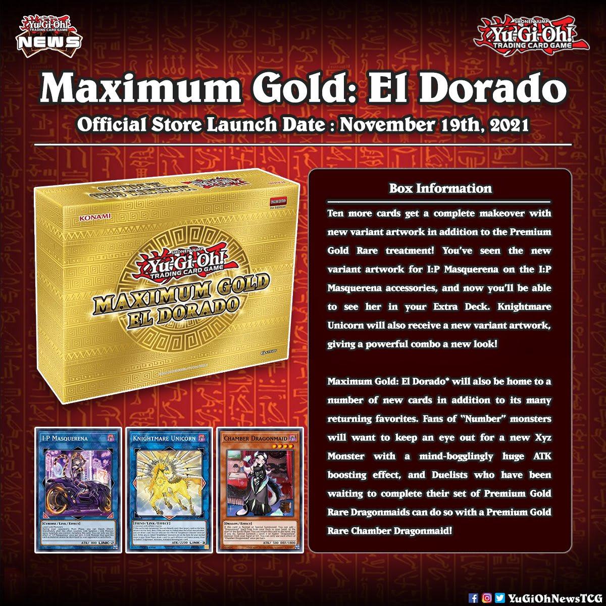 Yu-Gi-Oh! Maximum Gold: El Dorado Box KONAMI (KON941744)