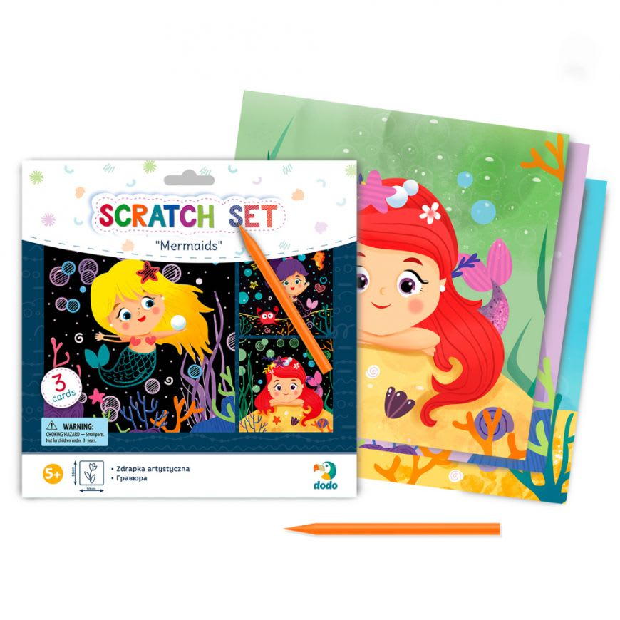 "Scratch Set ""Γοργόνες"" Dodo Puzzle (300216)"