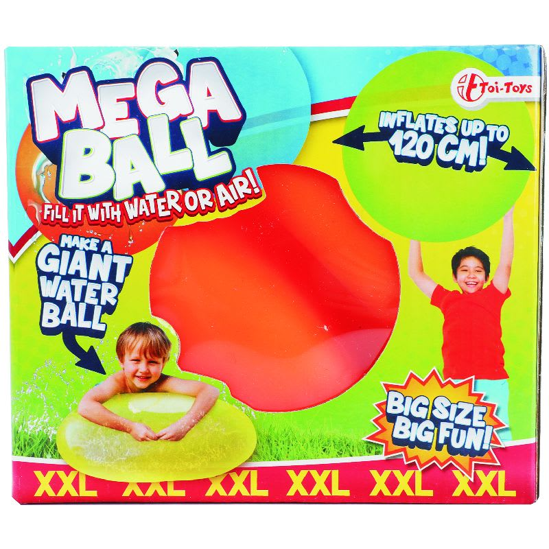 Mega Ball XXL Νερόμπαλα Γίγας 120cm Toi-Toys (65188Z)