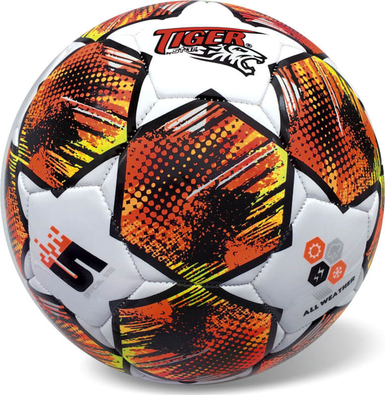 Μπάλα Ποδοσφαίρου MATCH LINE STARS FLUO ORANGE S.5 STAR BALLS (35/834)