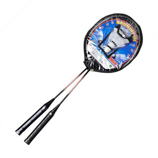 Σετ Badminton 2 ρακέτες με 2 μπαλάκια Sportline JOHNTOY (20140)
