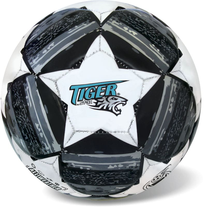 Μπάλα Ποδοσφαίρου MATCH LINE STARS BLACK - GREY S.5 STAR BALLS (35/811)